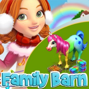 Family Barn Glow Horse Mission on Samy Club